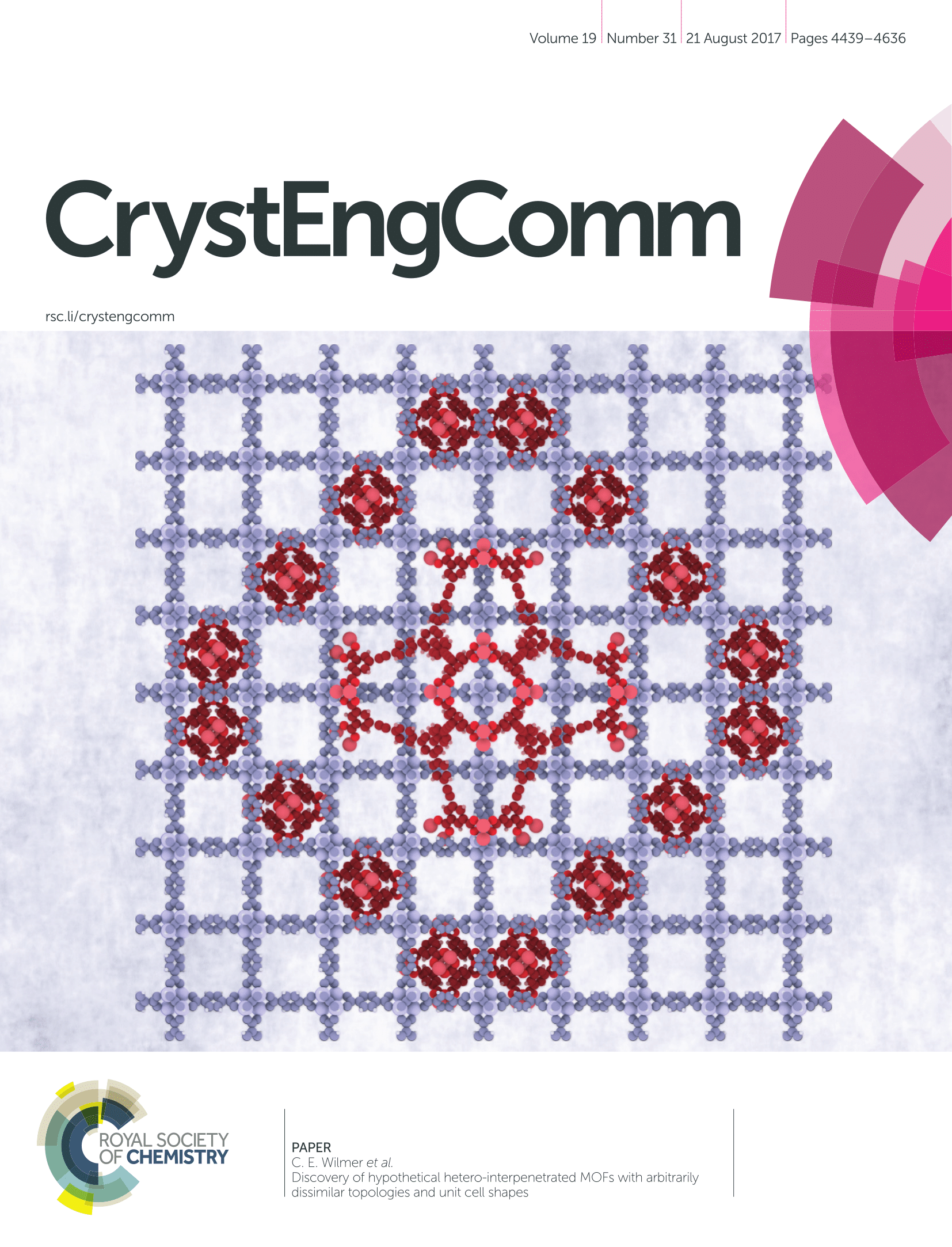 CrystEngCommCover